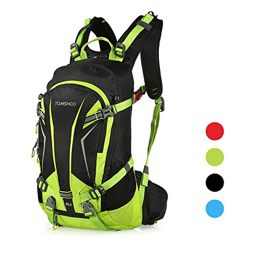 TOMSHOO 20L Cycling Backpack Lightweight Water Resistant Bicycle Bike Travel