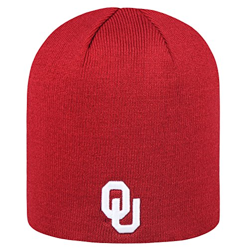Top of the World NCAA Classic Knit Beanie Hat-Oklahoma Sooners