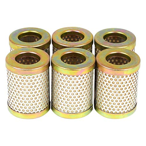 Canton Racing 26-020 Oil Filter Element CM-15 for Short 8 Micron, 6 Pack by Canton Racing Products