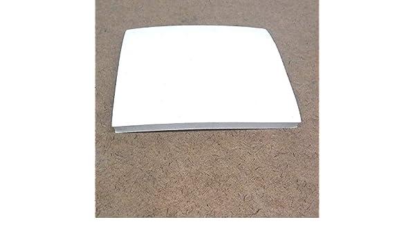 """White FDA Nitrile Rubber Sheet 1//16/"""" Thk x 12/"""" x 24/"""" Rect  60A Duro"""