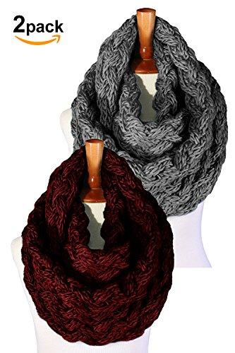Basico Winter Infinity Tassels Various