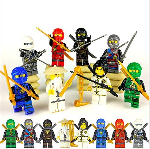 (PlayGoTop Ninjago Building Blocks Action Figures Sets)