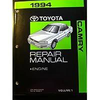 1994 Toyota Camry Repair Manual: Engine [ O E M]: Volume 1: for USA