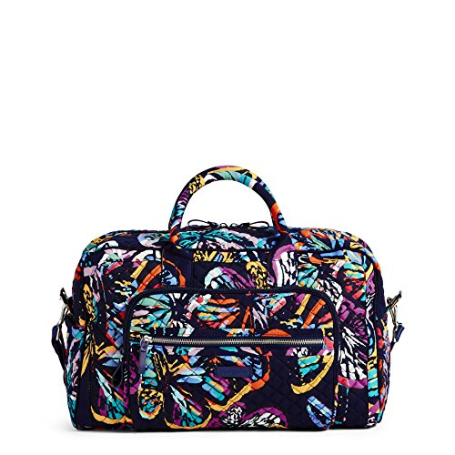 Vera Bradley Iconic Compact Weekender Travel Bag, Signature Cotton, Butterfly Flutter by Vera Bradley (Image #2)