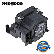 For Replacement Projector Bulb / lamp In Housing Fit EPSON EX30 EX50 EX70 H283A H283B H284A PowerLite 77c PowerLite 78 PowerLite HC 700 PowerLite S5 PowerLite S6 PowerLite W6 ELPLP41 by Mogobe