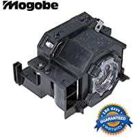 AuraBeam Replacement Projector Bulb / Lamp In Housing Fit EPSON EX30 EX50 EX70 H283A H283B H284A PowerLite 77c PowerLite 78 PowerLite HC 700 PowerLite S5 PowerLite S6 PowerLite W6 ELPLP41
