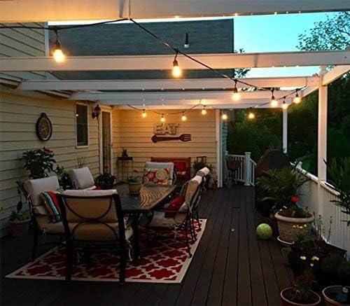 Tomshine – Guirnaldas luminosas de exterior, 15 unidades, LED ...