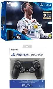PlayStation 4 (PS4) - Consola de 1 TB + FIFA 18 + Sony - Dualshock ...