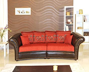 Kolonialsofa Großes Sofa Bigsofa India Amazonde Küche Haushalt