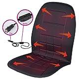 BDK calentador de Viaje-Cojín de asiento con calefacción para coche, Cub, furgoneta, 12voltios, acolchado y térmico liberación