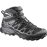 Salomon Men's X Ultra Mid 2 GTX Hiking Shoes & Collapsing Waterbottle Bundle