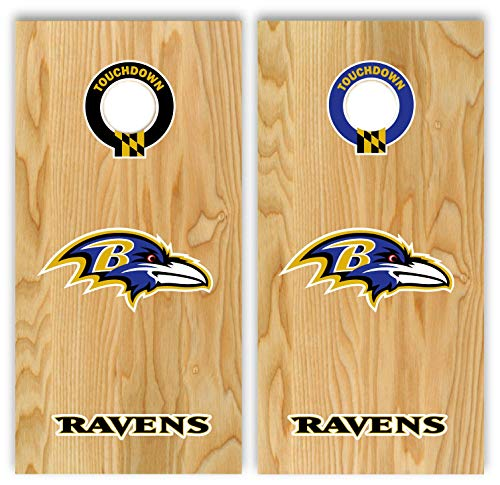 Set of Ravens Football Decal Stickers 17