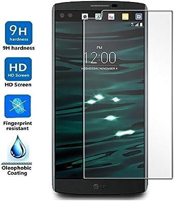 Protector de Pantalla para LG V10, Cristal Vidrio Templado Premium ...
