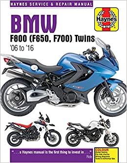 Bmw f800 f650 f700 twins 06 to 16 haynes service repair bmw f800 f650 f700 twins 06 to 16 haynes service repair manual editors of haynes manuals 9780857339218 amazon books fandeluxe Gallery