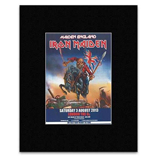 Price comparison product image Kerrang IRON MAIDEN - Maiden England Mini Poster - 28.5x21cm
