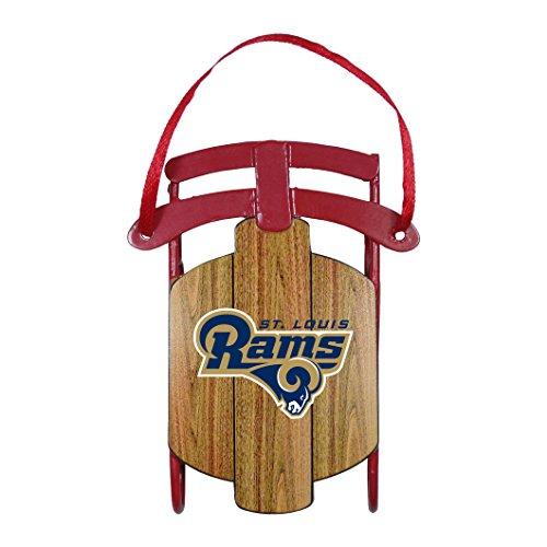 Boelter Brands NFL St. Louis Rams Metal Sled Ornament