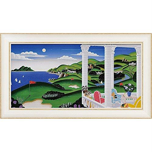 絵画 トーマス マックナイト「シーサイド ゴルフ」 B077K625RH
