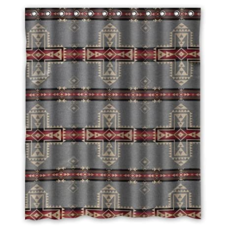 Pendleton Chief Joseph Shower Curtain 60Wx72H Inch With