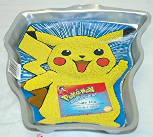 Amazon Com Wilton Pokemon Pikachu Character Cake Pan