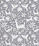 Designer Stencils Otomi Animals All Over Wall Stencil 3753