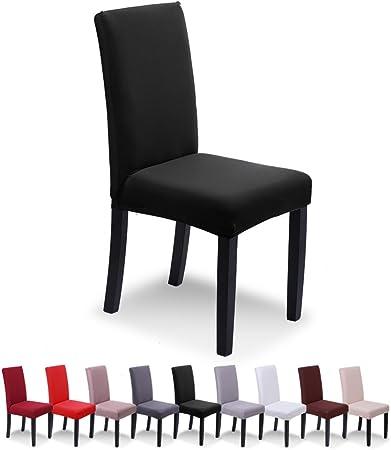 SaintderG® Fundas para sillas Pack de 6 Fundas sillas Comedor ...