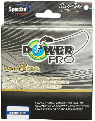 PowerPro 31100151500A Super 8 Slick Braided Fishing Line 15Lb