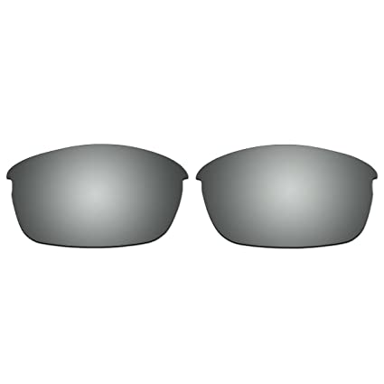 203423f1528 Amazon.com  ACOMPATIBLE Replacement Titanium Polarized Lenses for Oakley  Flak Jacket (Asian Fit) Sunglasses  Sports   Outdoors