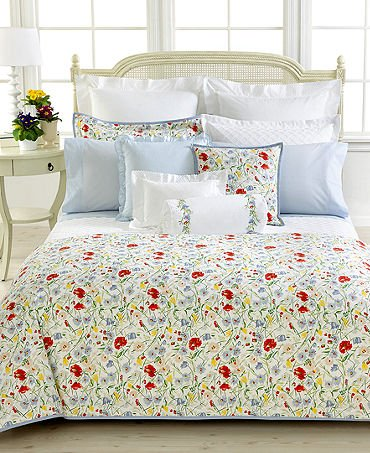 Ralph Lauren Georgica Garden Pique King Pillow Sham