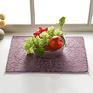 Microfiber Dish Drying Mat Mesh For The Kitchen Counter,15-Inch By 19-Inch.Heat Resistant,Quickly Absorb Moisture