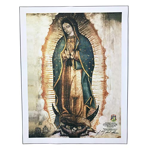 """Our Lady of Guadalupe Enormous Canvas (47.0"""" x 37.0"""" inches) with 2 Assorted Mini Canvases for Free 