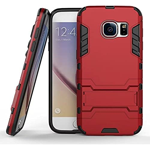 Galaxy S7 Case, E-weekly[Robot-Bear] Dual Layer Protective Hybird Armor Case[Slim Fit]Advanced Shock Absorption Protection with Kick-Stand Feature for Samsung Sales