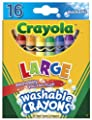 Crayola Washable Crayons 16-pk. | Educational Toys