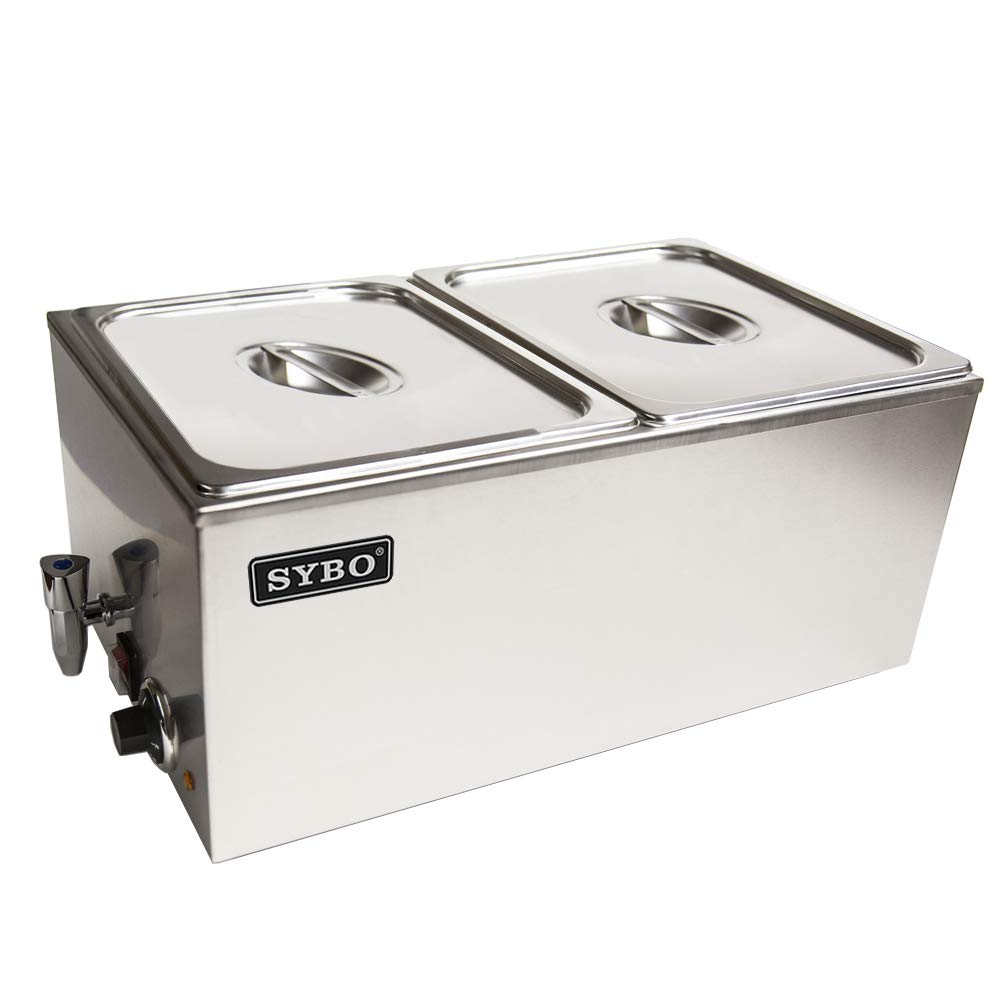 SYBO Ma ZCKBT Commercial Grade Stainless Steel Bain Marie - Food grade stainless steel table