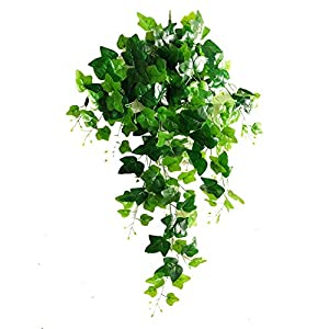 Rurality 192 Feet - 24 English Ivy Silk Greenery Wedding Party Garlands¡­ 90
