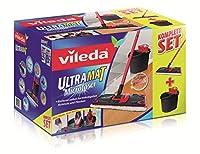 Vileda 132246 Ultramat Komplett-Set - Ultramat Bodenwischer mit...