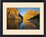 Framed Print of Santa Elena Canyon and Rio Grande