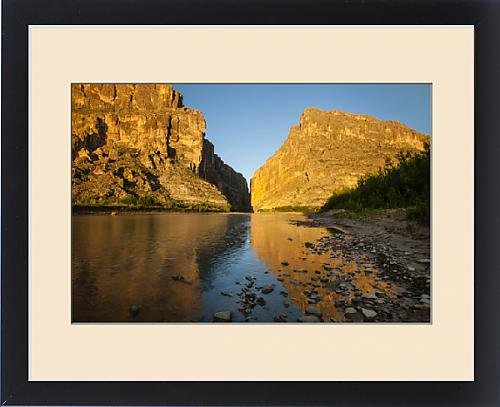 Framed Print of Santa Elena Canyon and Rio Grande by Fine Art Storehouse