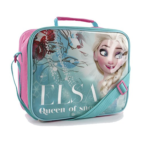 Disney Frozen Childrens/Girls Elsa Queen Of Snow Insulated Lunch Bag