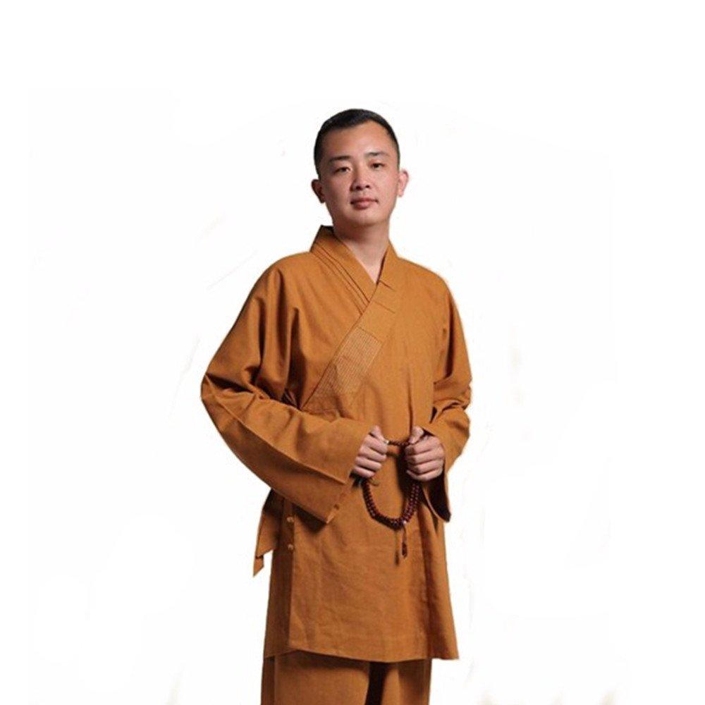 Amazon.com: zooboo Hombres Traje de algodón y el lino Hanfu ...