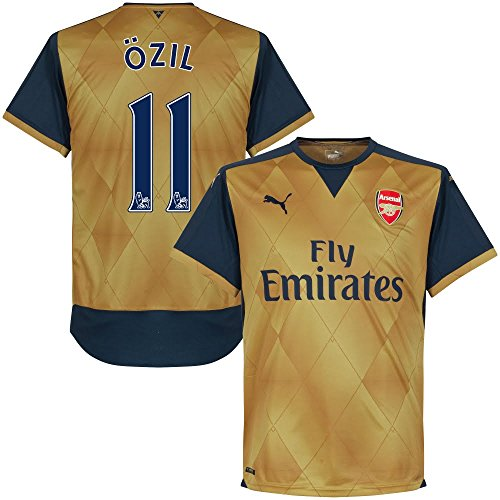 Ufficiale ARSENAL n. 11 Özil Trasferta 2015 2016 (pspro Lettore Stampa)