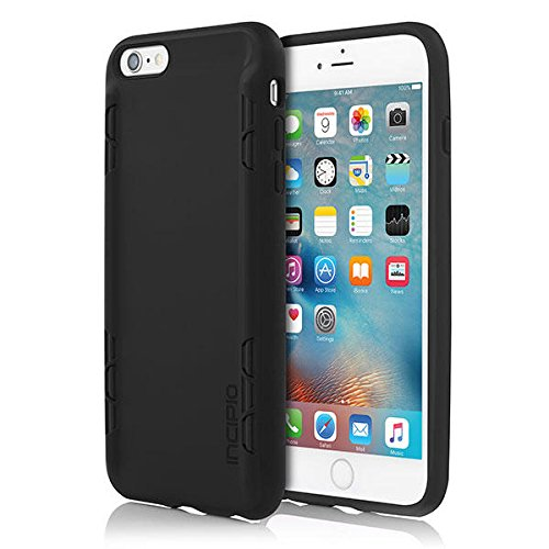 iPhone 6S Plus Case, Incipio Trestle Case [Bend Resistant] Cover fits both Apple iPhone 6 Plus, iPhone 6S Plus - Black/Black