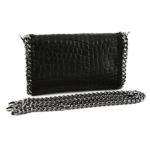Croco Tuscan Leather Leather Black In Bag Color Woman Made Italy Woman Bag Printed 6tTznXwqC