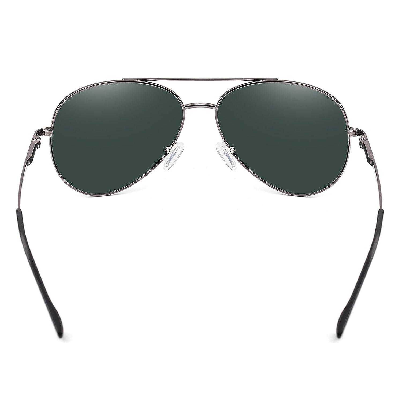 YUFENRA Polarisierte Aviator/Flieger Sonnenbrille fur Manner und ...