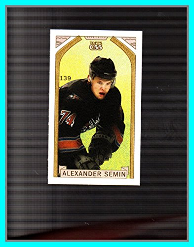2003-04 Topps C55 Minis Stanley Cup Back #139 Alexander Semin WASHINGTON CAPITALS (82e) ()