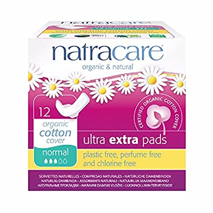 Natracare Ultra Extra Pads Normal - 6 paquetes