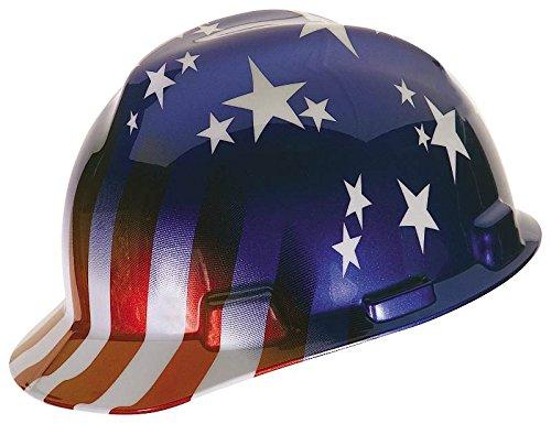 Safety Works 10055139 US Patriotic V-Gard Hard Hat