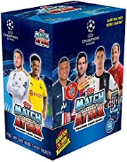 ToppsIndia Match Attax Champions League 2019-20 Edition Cards, Carry Box