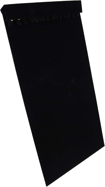 2 pezzi 9 22 cm di altezza Velluto Collana Espositore di Grande Qualit/à Mostra Boutique Stand Manichino Busto Organizzazione Casa Gioielli Organizzatore per Ragazze Donne