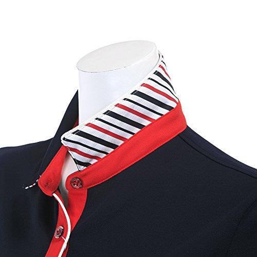 マンシングウェア(Munsingwear) レディース 半袖ポロシャツ JWLJ205 M145 ネイビー M