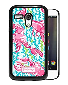 Unique And Fashionable Designed Cover Case For Motorola Moto G With Lilly Pulitzer 36 Black Phone Case